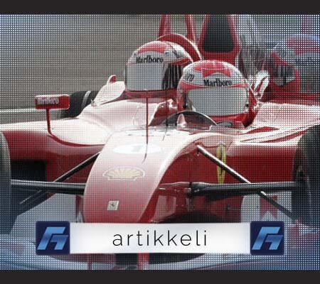Miltä tuntuu istua F1-auton kyydissä?